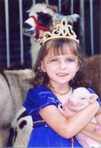girl in crown